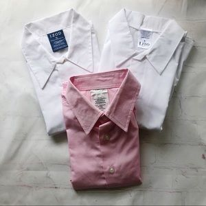 Bundle of 3 boys long sleeved dress shirts 5